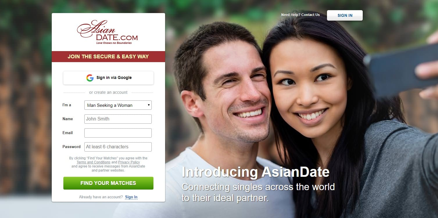 List of dating site in the world