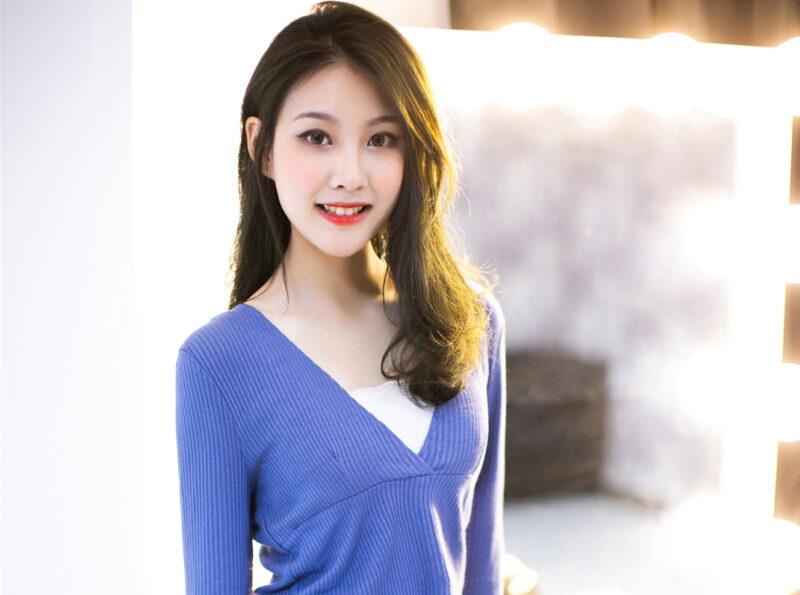 dream Asian lady